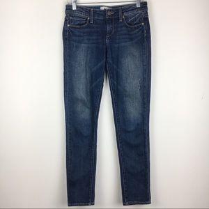 Paige Skyline Ankle Peg Augusta Skinny Jeans Sz 25